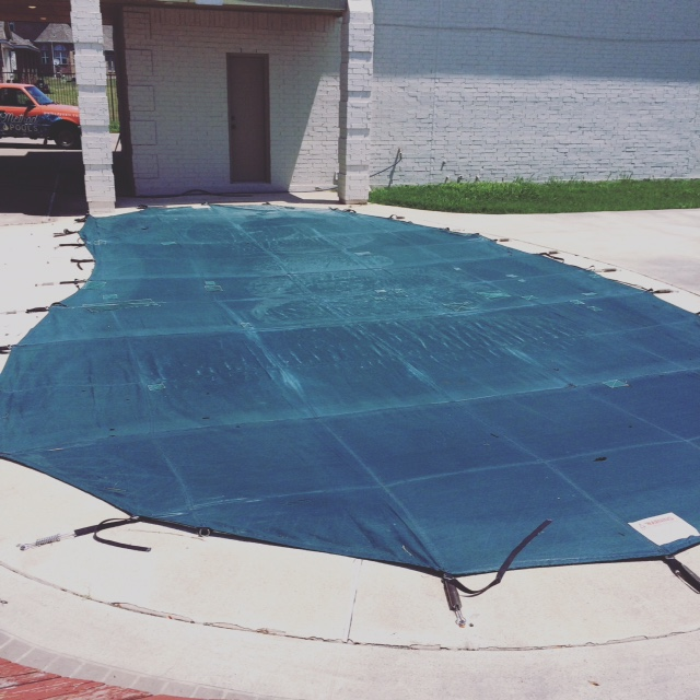Covered Pool / Pool Opening