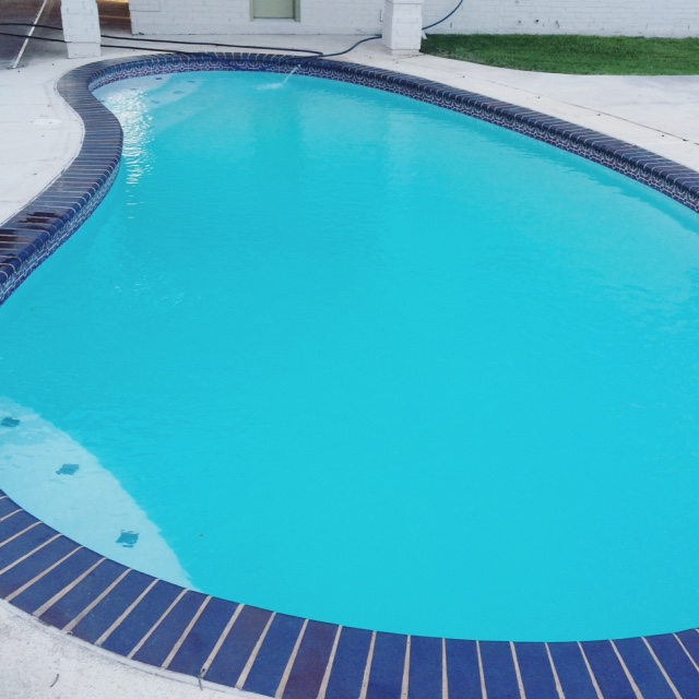 Clean Blue Pool